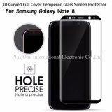 Neuf pour la caisse anti-éclatement de film protecteur du protecteur 9h 0.33mm d'écran en verre Tempered de la pleine couverture 3D de la note 8 de galaxie de Samsung amicale