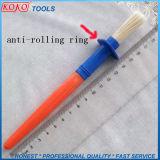 Anti Rolling Enige PCs van de Borstel van de Verf van de Ring in Polybag