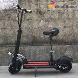 Da roda dupla do motor 2 da maçaroqueira do vento bicicleta de dobramento elétrica