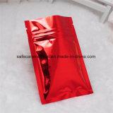 Il commestibile di vendita della fabbrica si leva in piedi in su i sacchetti a chiusura lampo laminati stampati abitudine del di alluminio del Mylar del sacchetto