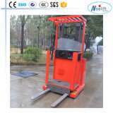 Orderpicker eléctrico500kg a partir de 2200 mm a 4800 mm de qualidade superior com um preço baixo