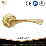 Aluminiumbadezimmer-Schlafzimmer-Verschluss-Hebel-Tür-Griff (AL238-ZR23)