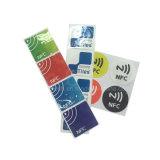 D'impression personnalisé 13.56MHz programmable Ntag213 autocollant NFC RFID