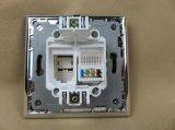 Zoccolo ROSSO certificato di DATI del vetro temperato di standard europeo dei CB del CE di TUV