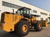 6,0 tonne, les chargeurs sur roues de la capacité 3.7Cbm puissant GK962 pour la vente
