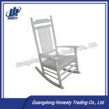 Cy120 백색 정원 옥외 목제 이완 흔들 의자