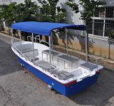 La Chine Fabrication Liya 5.8m de bateau en fibre de verre pour la vente de taxi de l'eau