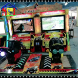 La exploración de la isla Aracde filmando un video juego el Equipo de Parque de Atracciones de la máquina
