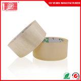 Cinta adhesiva transparente del embalaje de la adherencia BOPP de la alta calidad que empaqueta la cinta de acrílico