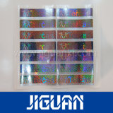 Collants transparents adhésifs durables faits sur commande d'hologramme de Watepproof