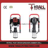 Nuevo diseño! Carrera de 2 alimentación gasolina hincapostes