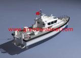 21m FRP materielle Versuchsboots-Lieferung