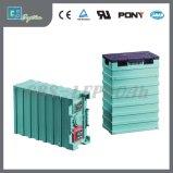 Bateria de lítio recarregável amigável de Eco 12V 60ah para a lâmpada de rua solar