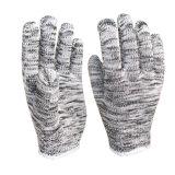 Van de Katoenen van de Leverancier van China de Werkende Handschoenen Hand van de Handschoen Beschermende Veelkleurige Gebreide