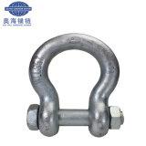 索具のハードウェアのステンレス鋼の弓手錠のオメガの手錠