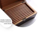 Boîte à cigares en bois de vente de peinture chaude de piano