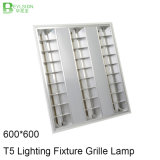 600*600 vertiefte eingehangene Gitter-Lampe LED-T5 3X14W