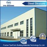 La estructura de acero al carbono de alta resistencia la construcción de almacén