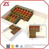 La tapa de China consigue a aire la gimnasia comercial del trampolín para los adultos (ZS43)