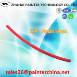 """1/4 """" di tubo flessibile idraulico del tubo flessibile ad alta pressione dello spruzzo di SAE100 R7 - colore rosso"""