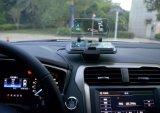 Новейшие мобильные Super-Smart Быстрый Беспроводной Hud автомобильное зарядное устройство для iPhone и Samsung