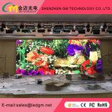 P6 completo de instalación fija de interior de color LED Pantalla LED para la etapa de fondo, Conferencias, Eventos (LED SMD3528 black panel)