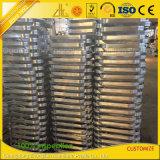 Customzied sacó los marcos de aluminio de doblez del CNC para el equipaje