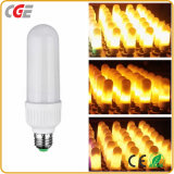 LEDの炎の効果のライトによって模倣される性質の火のトウモロコシの球根E26/E2/B22の装飾の炎LEDランプ