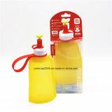 11oz Eco Freund-Silikon-materieller Arbeitsweg scherzt Wasser-Flasche
