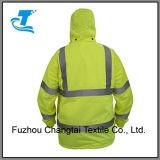 Resguardo de chuva reflexivo de segurança para homens