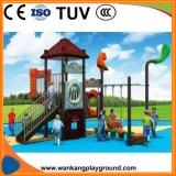 Diapositiva al aire libre del equipo del juego de niños del patio (WK-A1210)