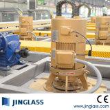 Vidrio plano que templa la máquina con el sistema de la convección del jet