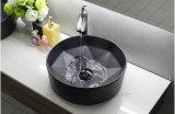 Матовый черный цвет керамического искусства раковина для ванной комнаты (C1147)