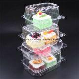 Le PET/PVC/PP/PS en plastique transparent à usage unique sushi/pain/conditionnement sous blister d'aliments de gâteau de bonbons de chocolat Fruits Légumes Boîte de cookie