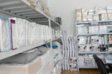 Caisses lavables de palier de tissu de Terry de qualité avec feuilleter d'unité centrale
