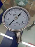 Manometro del tubo di bordone con la guarnizione del diaframma