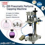 Máquina tampando do frasco pneumático para o perfume (YL-200)