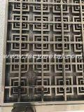 Het decoratieve Scherm van het Metaal van het Roestvrij staal