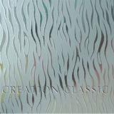 4-12мм кислоты выгравированный рисунок из стекла и матового стекла искусства (4-12мм)