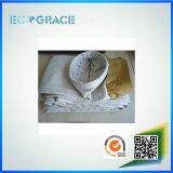 Baño de PTFE Filtro de fibra de vidrio Filtro de polvo de bolsas de tela