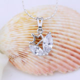 De jonge Juwelen van de Charme van het Kristal van de Tegenhanger van de Vorm van de Kroon van het Meisje