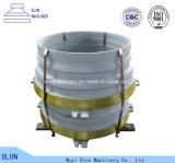 Hohe Mangan-Stahl Terex Kegel-Zerkleinerungsmaschine-Teile 1300
