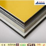 El panel compuesto plástico de aluminio