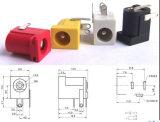 Tomada Elétrica Conector 5.5X2.1mm tomadas de saída de tomada de alimentação DC-005