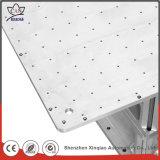 Inspecção completa de peças de alumínio CNC para máquina de corte