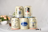 Tazza di birra di ceramica di vendita calda resa personale di alta qualità promozionale