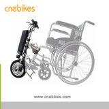 250W Handbike pour fauteuil roulant électrique avec batterie au lithium 8.8Ah 36V