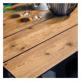 Compact de table à manger ronde en bois de qualité haut de page pour la vente