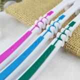Fábrica de borracha macia flexível do Toothbrush do punho