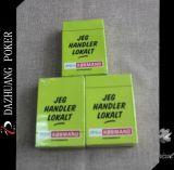 Cartes de jeu de papier de Lokait de dérouleur de Jeg